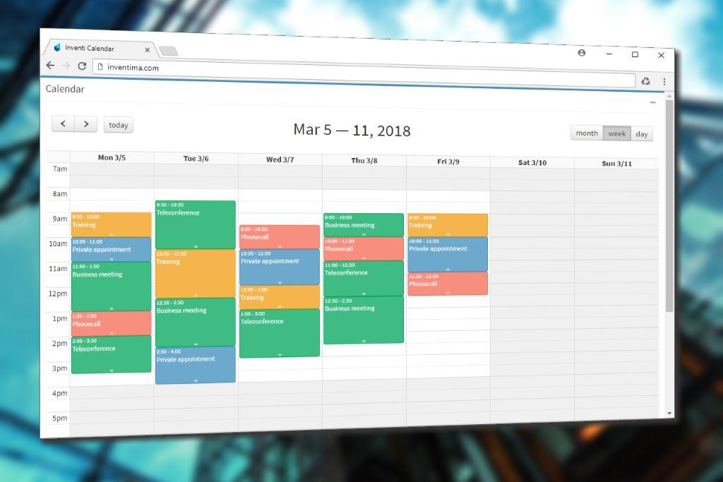 Inventi Calendar